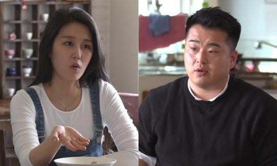 MBC '부러우면 지는거다'에 출연 중인 이원일 셰프(오른쪽)와 김유진 PD. [방송 캡처]