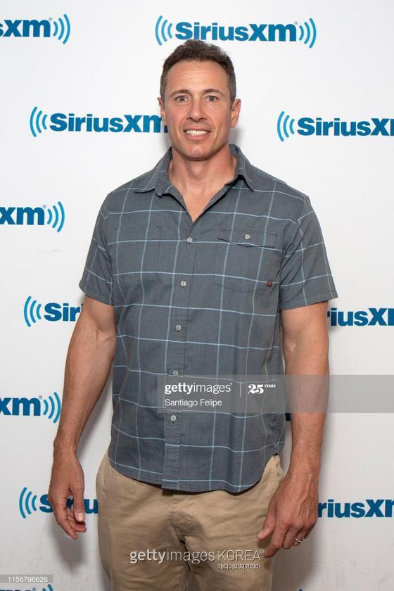 NEW YORK, NEW YORK - JUNE 18: Chris Cuomo visits SiriusXM Studios on June 18, 2019 in New York City. (Photo by Santiago Felipe/Getty Images