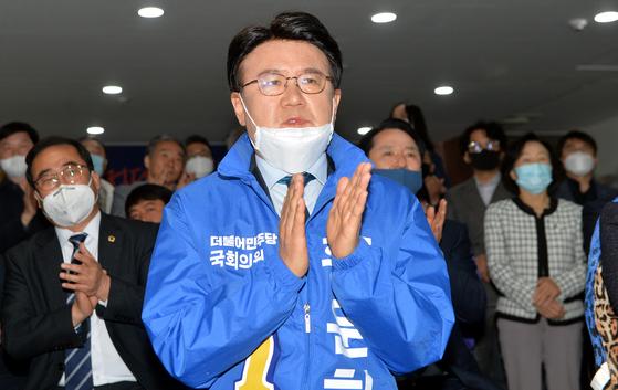 더불어민주당 황운하 당선인. 김성태