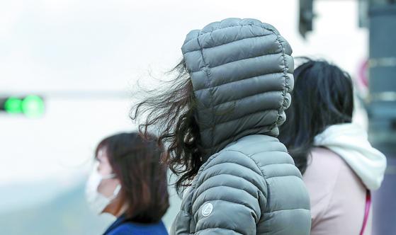 오늘도 쌀쌀, 영동지방 강풍