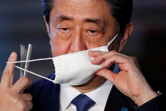 아베 신조(安倍晋三) 일본 총리. [로이터=연합뉴스]