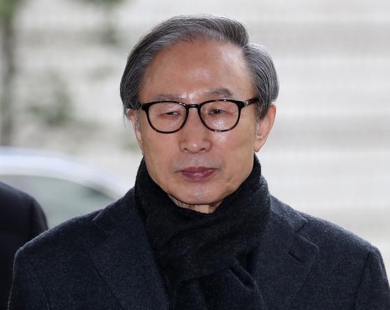 이명박 전 대통령. 연합뉴스