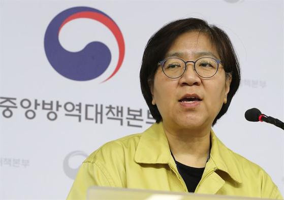 정은경 질병관리본부장. 연합뉴스