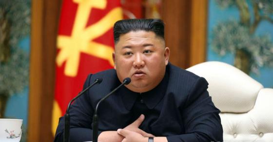 김정은 북한 국무위원장. AP=뉴시스