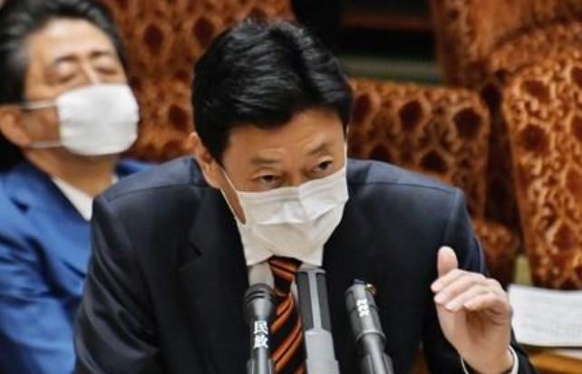 니시무라 야스토시(西村康稔) 경제재생담당 장관. UPI=연합뉴스