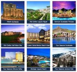 지난해 9월 미래에셋이 중국 안방보험으로부터 매매하기로 계약한 미국 내 15개 호텔들 중 일부. [사진 미래에셋자산운용]