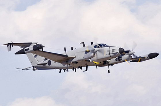 주한미군 특수정찰기 RC-12X 가드레일. [사진 노스롭 그루먼]