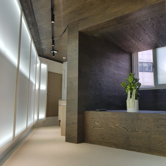 SH공사가 신월동 반지하 공간을 개조한 청년 작가 전시·교육 공간. 뉴스1