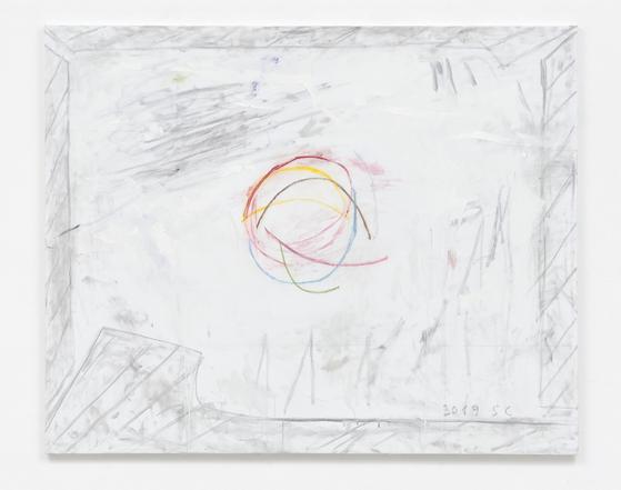 샌정, 'Untitiled, 2019, Oil on canvas, 130x162cm. [OCI미술관]