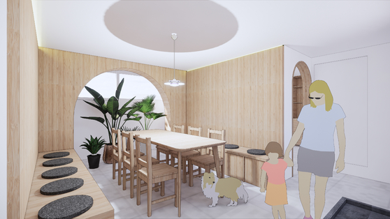 서울주택공사는 비어있던 주택가 반지하 집을 마을 주민들이 사용할 수 있는 공간으로 바꿔나가고 있다. [사진 서울주택공사]