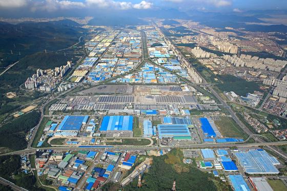 창업국가산업단지 전경. 사진=한국산업단지공단