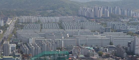 서울 강남의 아파트 단지 모습. [뉴스1]