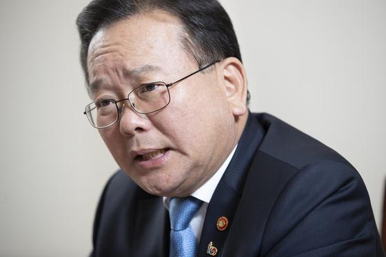 김부겸 더불어민주당 의원. 김현동 기자