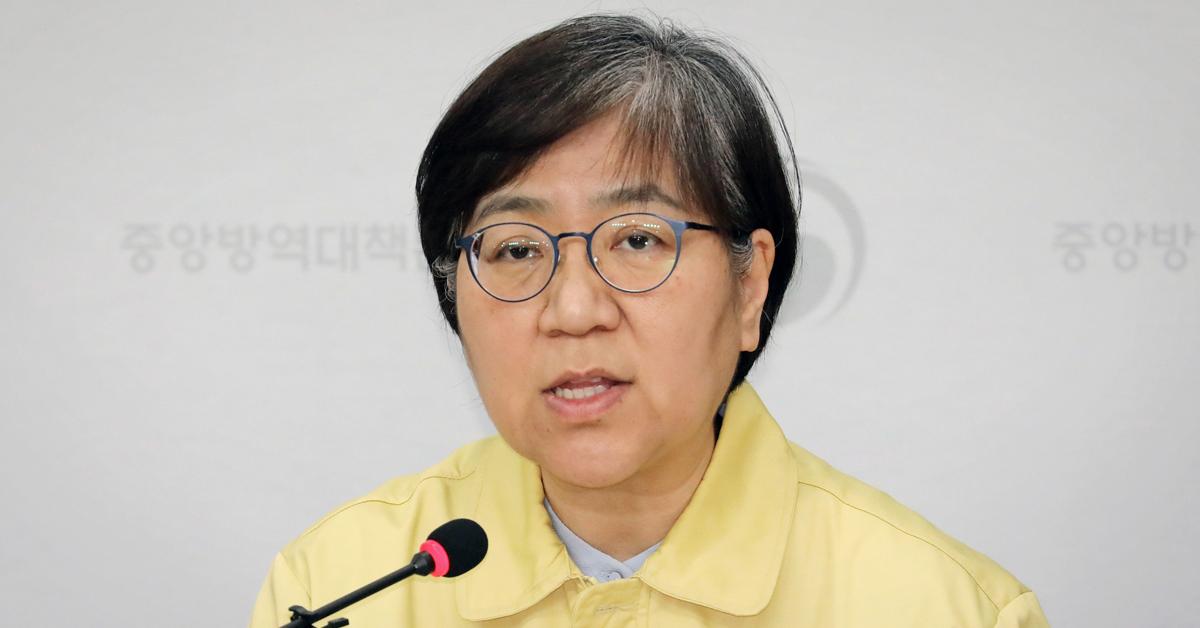 정은경 중앙방역대책부 본부장. 연합뉴스