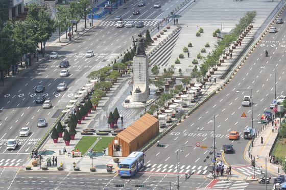 서울 광화문 광장 전경. 뉴스1