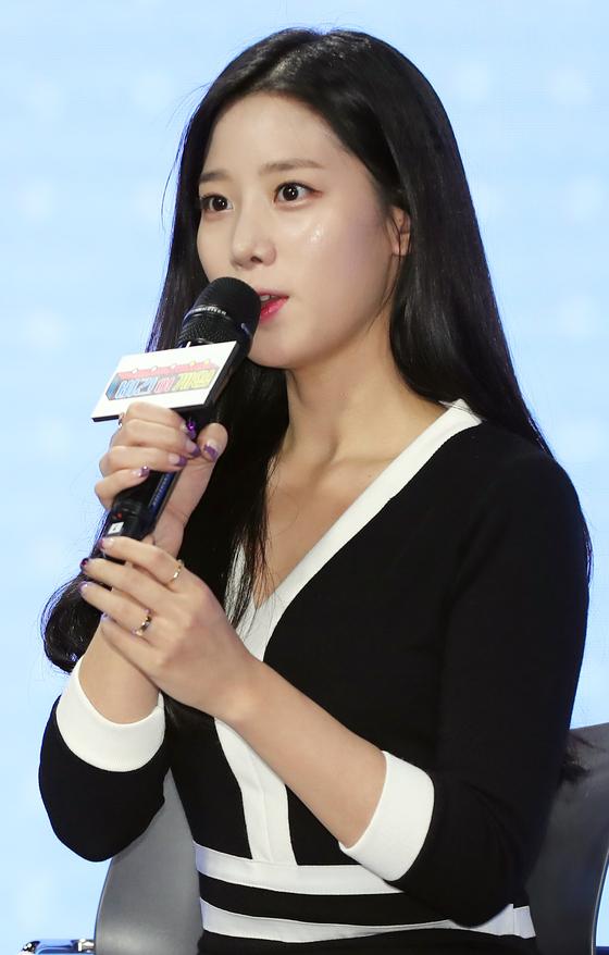 아이돌 걸그룹 베리굿의 멤버 조현 [중앙포토]