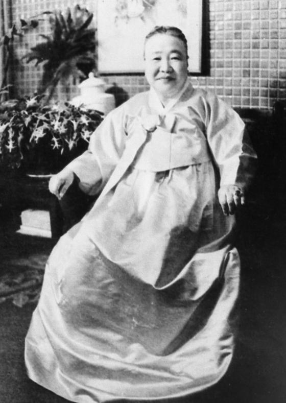 최초의 여성 정치인으로 불리는 임영신 전 의원. [중앙포토]