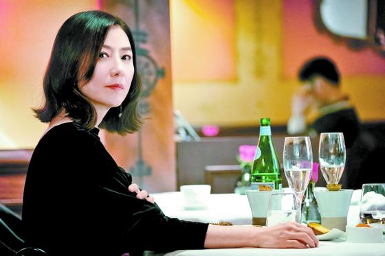 드라마 '부부의 세계'의 한 장면. JTBC 캡처.