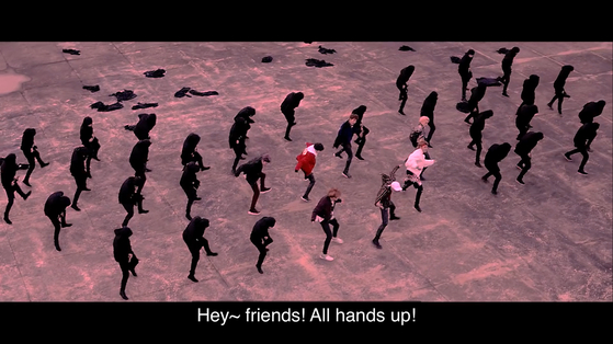 방탄소년단의 '낫 투데이' 뮤직비디오 영상 이미지. [뮤직비디오 영상 이미지]