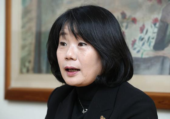윤미향 더불어시민당 비례대표 당선인. [연합뉴스]