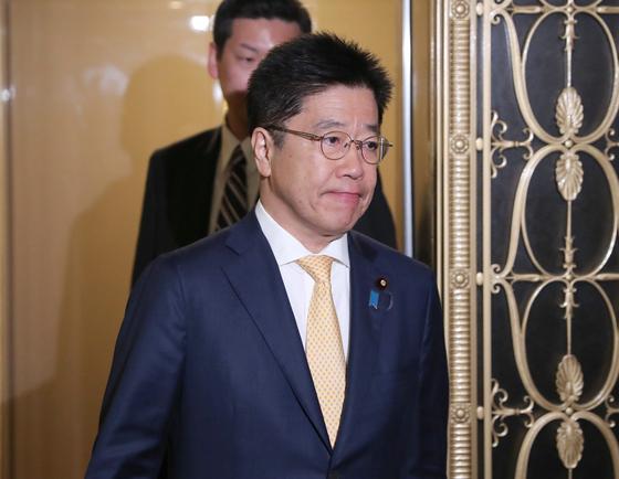 가토 가쓰노부 일본 후생노동상이 신종 코로나에 대한 대응 실패로 연일 체면을 구기고 있다. [사진=지지통신 제공]