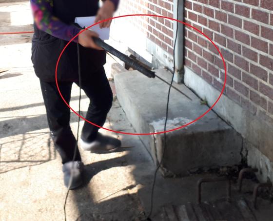 경기도 특별사법경찰단이 단속현장에서 찾아낸 개도살 사용도구 [사진 경기도]