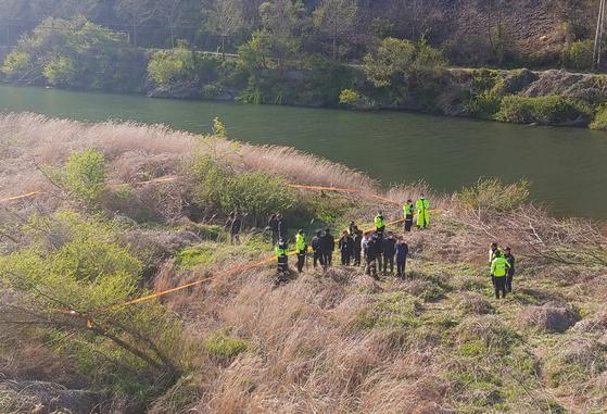 지난달 23일 전북 진안군 성수면의 한 하천에서 같은 달 14일 전주에서 실종된 30대 여성의 시신이 발견됐다. 연합뉴스
