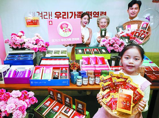 코로나19 이후 대중국 수출 품목 중 홍삼과 비타민 수출액이 늘었다. 사진은 정관정 홍삼. 연합뉴스