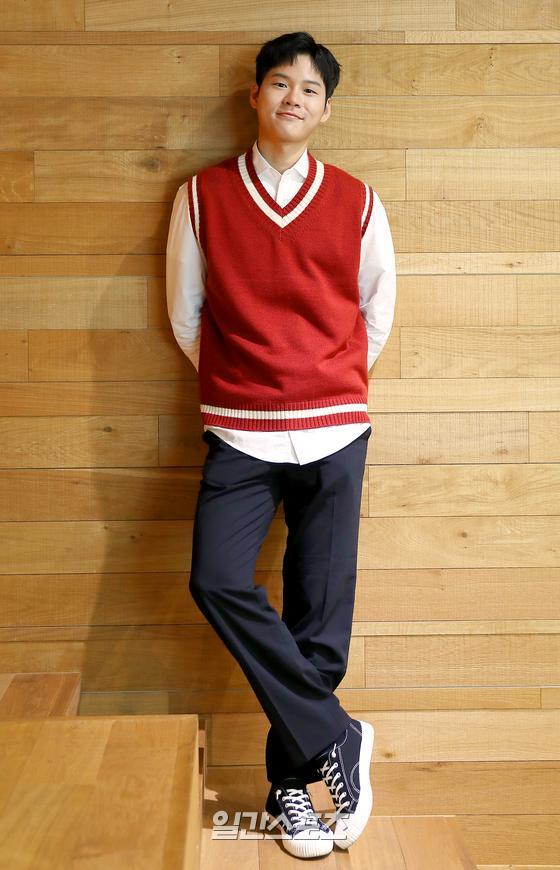 tvN 드라마 '메모리스트'의 배우 윤지온이 15일 오후 서울 마포구 상암동 JTBC에서 일간스포츠와 인터뷰를 가졌다.박세완 기자 park.sewan@jtbc.co.kr / 2020.05.15/