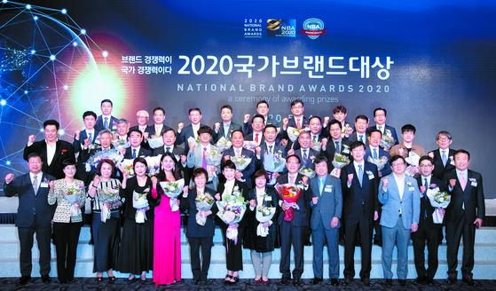 '2020 국가브랜드 대상' 영광의 수상자들