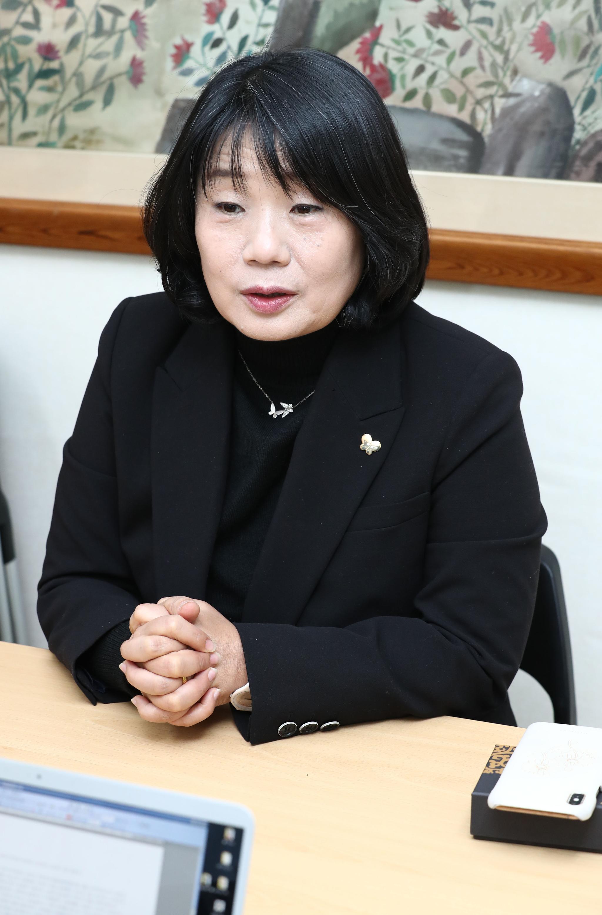 정의기억연대 이사장을 지낸 윤미향 더불어시민당 비례대표 당선인. 연합뉴스