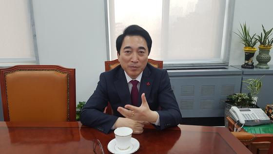 박수현 전 청와대 대변인. 중앙포토
