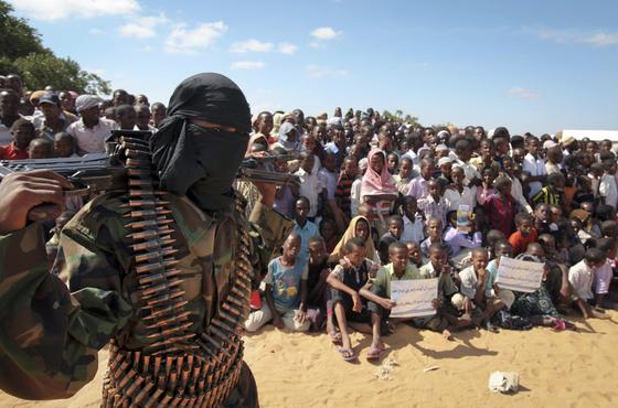 이슬람 극단주의 무장단체 알샤바브. AP=연합뉴스