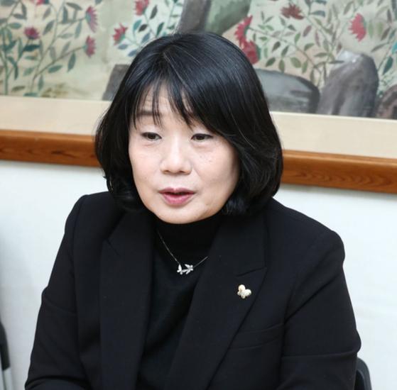 윤미향 이사장. 연합뉴스