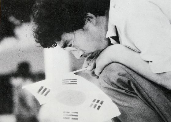 1987년 단편 '칸트씨의 발표회'는 5·18 시민군의 끝나지 않는 아픔을 그렸다. [사진 인디컴]