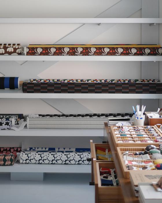 지난 4월 문을 연 원단가게 '키티버니포니 패브릭스'. 키티버니포니가 개발한 국내 오리지널 디자인 원단을 판매한다. 사진 KBP