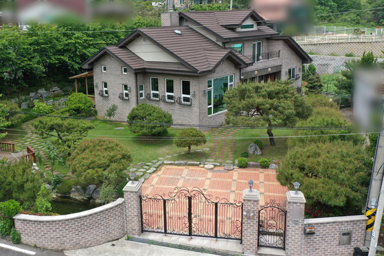 경기도 안성시 금광면 소재 쉼터 '평화와 치유가 만나는 집'의 모습.  [뉴스1]