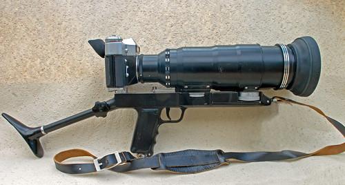 사진8. 구소련 제니트사가 개발한 포토스나이퍼(Photosnipher). [사진 camerawiki]