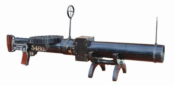 사진6. 영국 공군이 전투기 조종사 훈련용으로 사용한 Mark III Hythe 기관총 카메라. [사진 cameraclassics]