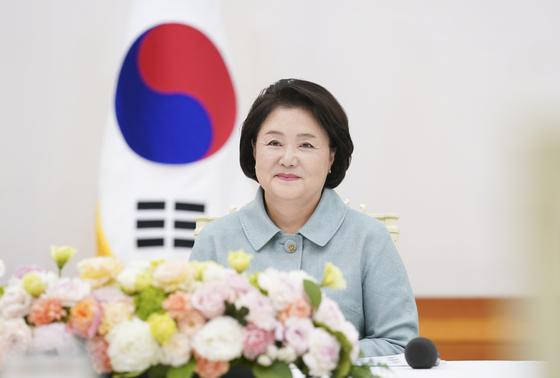 김정숙 여사. 사진 청와대 제공