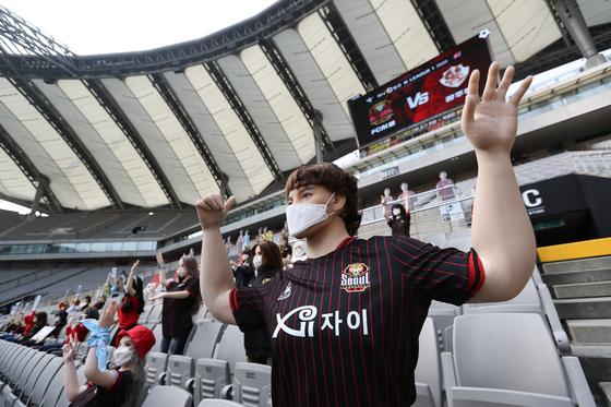 한국 프로축구 역사상 최초로 '성인용품' 논란에 휩쌓인 FC서울. 사진=한국프로축구연맹