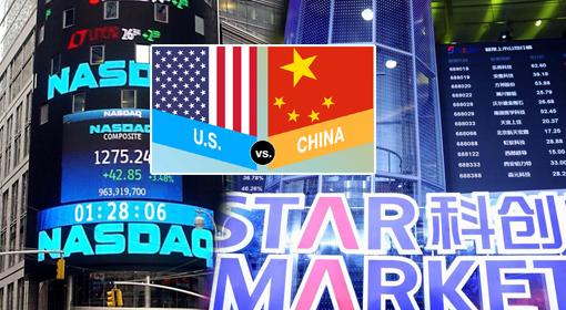 중국 기업과 미증시