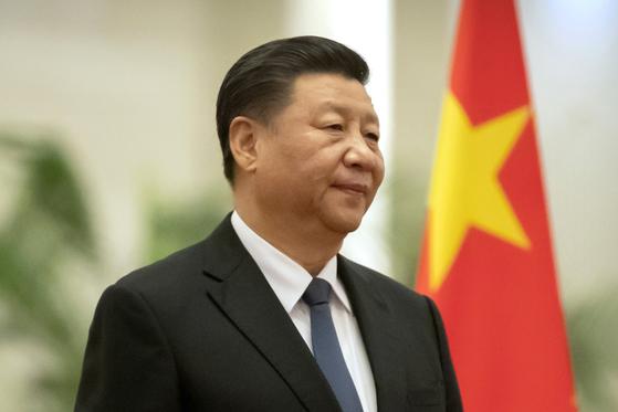 시진핑 중국 국가주석. 트럼프 대통령의 공식 문장이 찍힌 20일 미국의 중국 전략 보고서는 시 주석을 정면 겨냥하고 있다. AP=연합뉴스