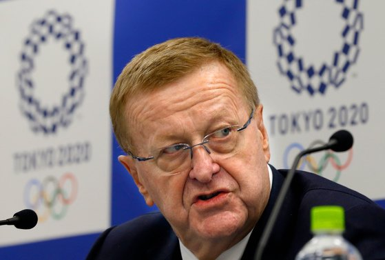 존 코츠 IOC 조정위원장. AP=연합뉴스