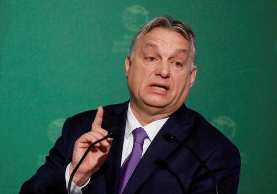 빅토르 오르반 헝가리 총리. [로이터=연합뉴스]