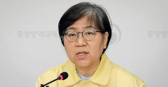 정은경 중앙방역대책부본부장(질병관리본부장). 연합뉴스