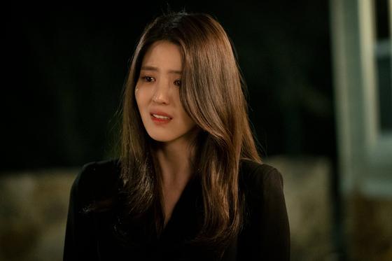 드라마 '부부의 세계'에서 여다경 역할로 호평 받은 배우 한소희. [사진 JTBC]