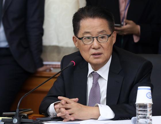 박지원 민생당 의원. 뉴스1