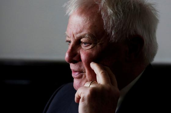 홍콩의 마지막 영국 총독을 지낸 크리스 패튼 옥스포드대 명예 총장. [로이터=연합뉴스]
