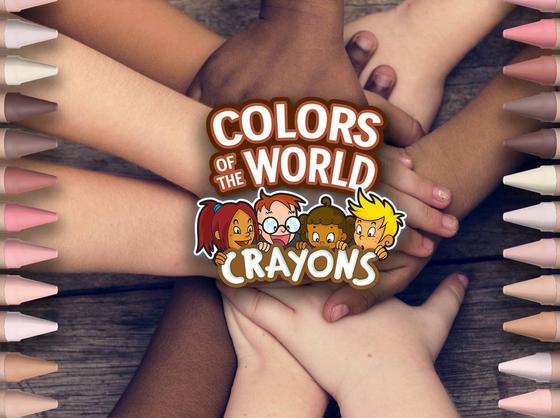 반창고도 인종차별 산물? '살색 24가지' 크레용 회사의 교훈